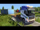 ETS2 OVERSIZE LOAD Volvo 10x8 Euro Truck Simulator 2