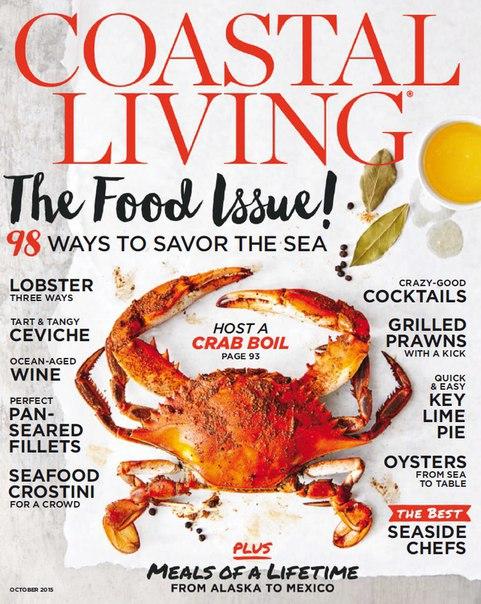Coastal Living - October 2015 vk.com