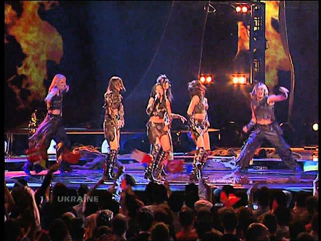 Eurovision 2004 Ruslana Wild Dance HD