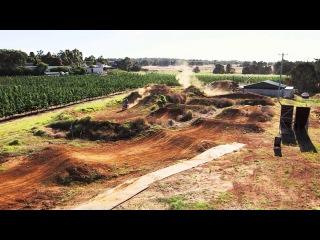 Josh Sheehan's Backyard Freestyle Motocross Playground