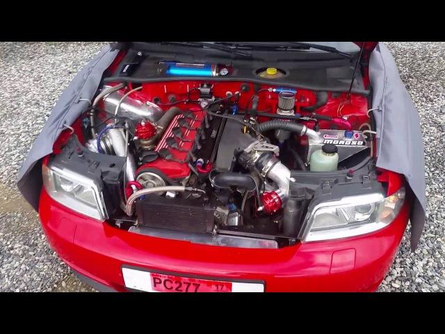 Audi RS4 B5 5cyl 2 5 20vt 940hp 980nm at 2 3bar of boost
