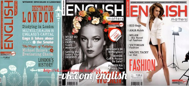 english matters 2014 n9 special edition about fashion