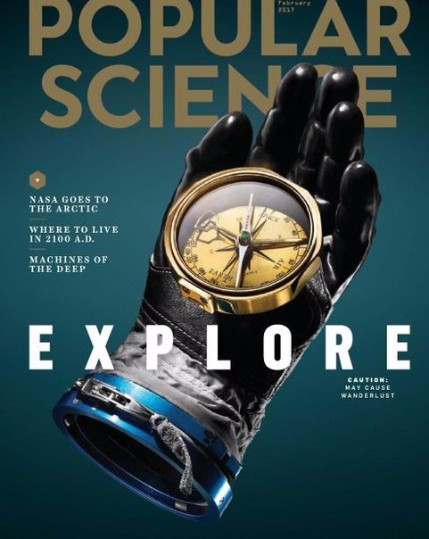 Popular Science USA - January-February 2017 vk.com