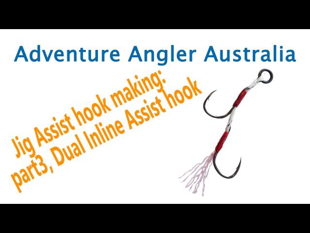 How to Make: Dual Inline assist hook, jigging hook, micro jigging