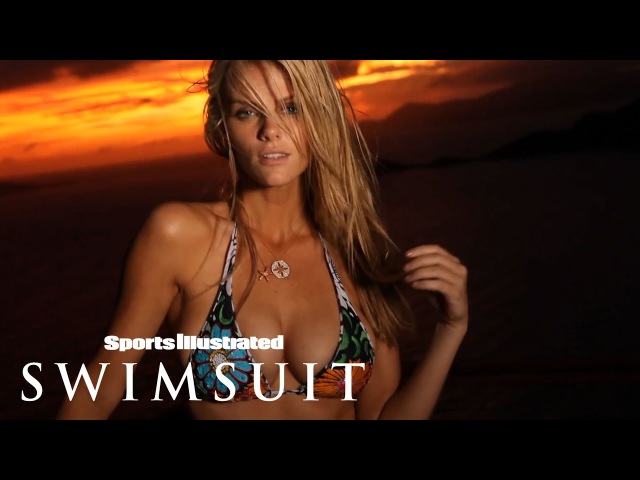 Brooklyn Decker Takes A Sip On Heaven Against The Sunset Intimates Sports Illustrated Swimsuit