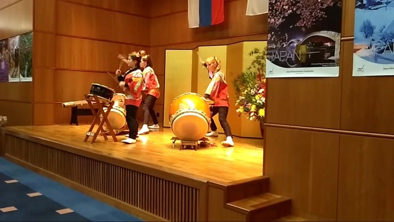 Японские барабаны тайко