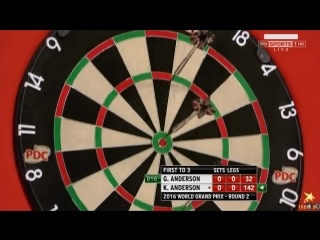 Gary Anderson vs Kyle Anderson (PDC World Grand Prix 2016 / Round 2)