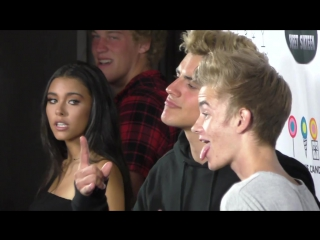 Madison Beer ~ with Jack Gilinsky on the red carpet at Amanda Steeles Sweet 16 Party