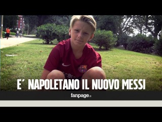 Il nuovo Messi è napoletano: Luca Tavassi, a 12 anni convocato dal Barcellona