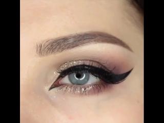 Красивая идея макияжа