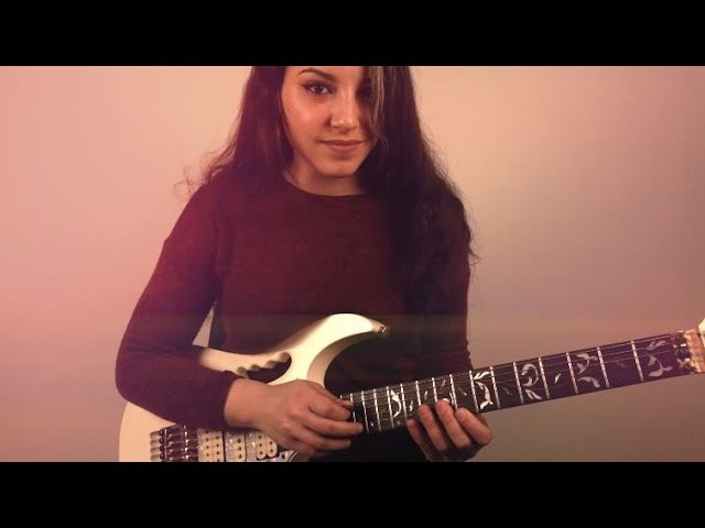 Aerion Into The night Guitar cover by Shani Kimelman