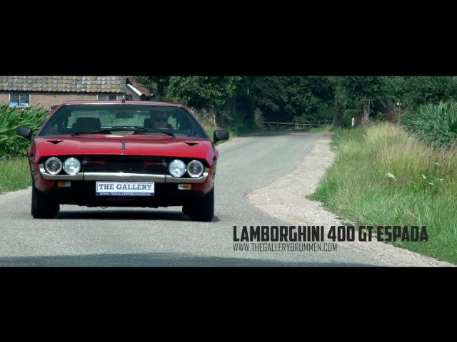 LAMBORGHINI 400 GT ESPADA 1971 THE GALLERY BRUMMEN TV