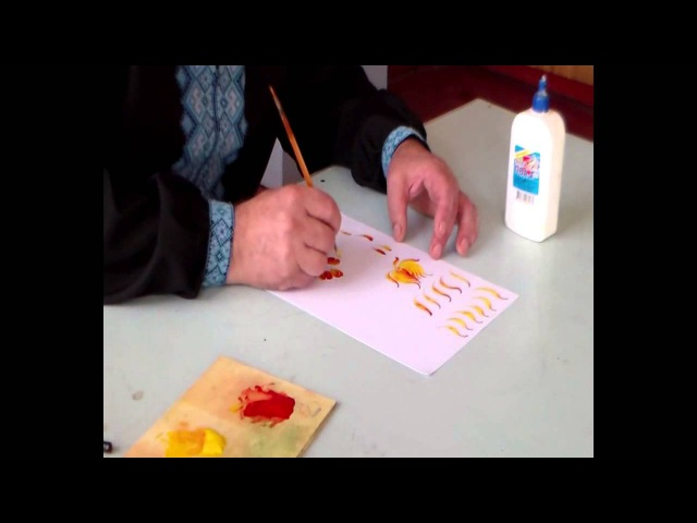 2 урок Петриківський розпис