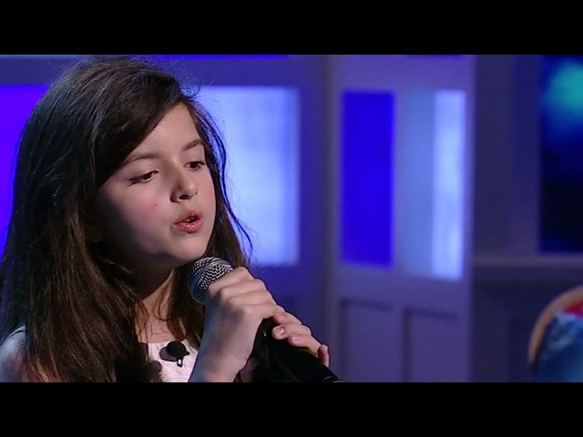 Angelina Jordan Fly Me To The Moon The View 2014