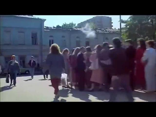 Километровая очередь в первый Макдональдс СССР, Москва, 1990, светлой памяти