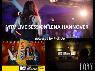 MTV LIVE SESSION LENA / Kat Vinter - Little Simz - Lary - Alvaro Solar / LORY