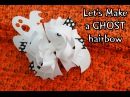HOW TO: Let's make a GHOST hairbow/ bow DIY