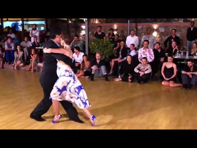 Ruben Sabrina Veliz Pobre flor Orquesta tango July 19 2015