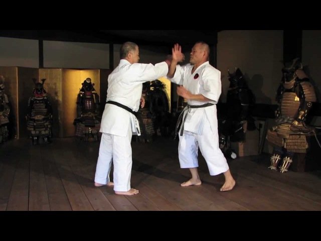 Worlds Karate Legend MORIO HIGAONNA Goju-ryu Master 10th Dan (pt.2)
