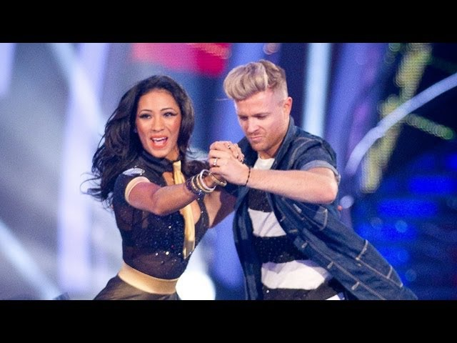 Nicky Byrne Karen Hauer Jive to 'Jailhouse Rock' - Strictly Come Dancing 2012 - Week 7 - BBC One