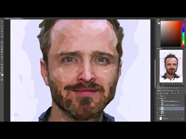 Трейлер курса Цифровая живопись в Photoshop