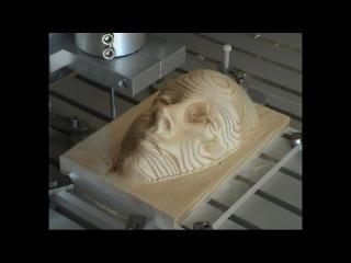 Удивительная 3D модель из дерева на станке с ЧПУ