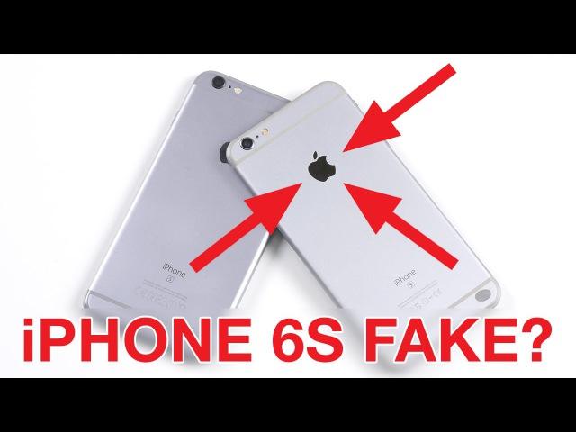 Fake iPhone 6S Plus за 10000р
