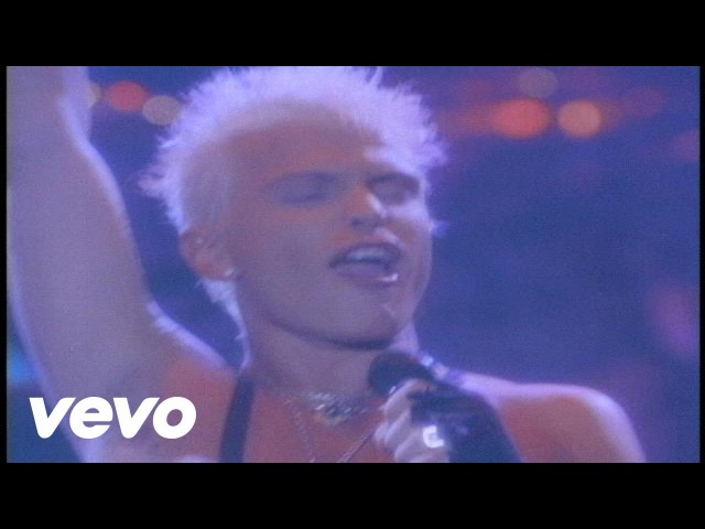 Billy Idol Mony Mony Live Official Music Video