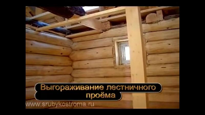 Дом из бревна. Внутренняя отделка сруба после усадки