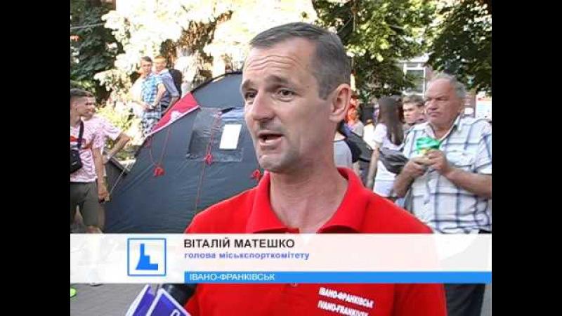 Іванофранківцям показали вуличне шоу Красивий спорт