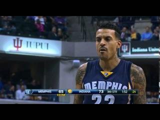 "Indiana Pacers fans chant ""Derek Fisher"" at Grizzlies F Matt Barnes"