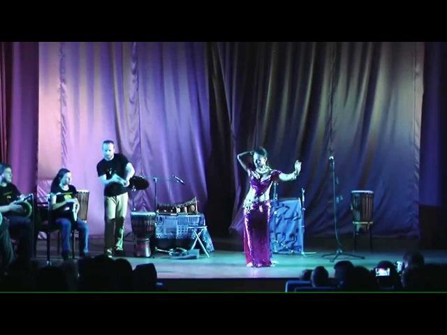 Большой концерт студии этнических барабанов DRUM TAM TAM