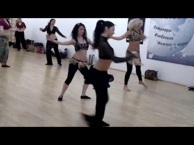 Мастер класс Кристины Гумаровой Школа восточных танцев KrisStyle