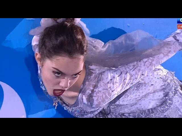 Evgenia Medvedeva Corpse Bride EX 2015 - Cup of Russia HD / Евгения Медведева Труп невесты