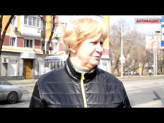Да нафиг они нужны!  Жители Донецка об участии украинских партий в местных выборах
