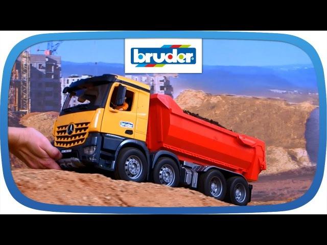Брудер игрушка самосвал Mерседес Бенц Arocs М1 16 Bruder 03623