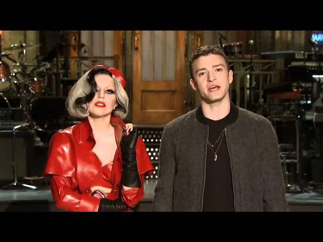 21 мая Леди Гага и Джастин Тимберлейк в промо ролике для SNL