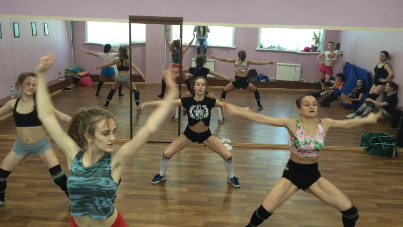 TWERK DANCE HALL Parti1 мы Choreo by Кристина Корецкая