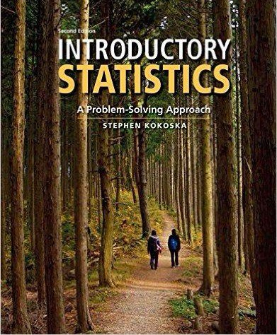 Introductory Statistics A Problem Solving Approach- 2nd Edition
