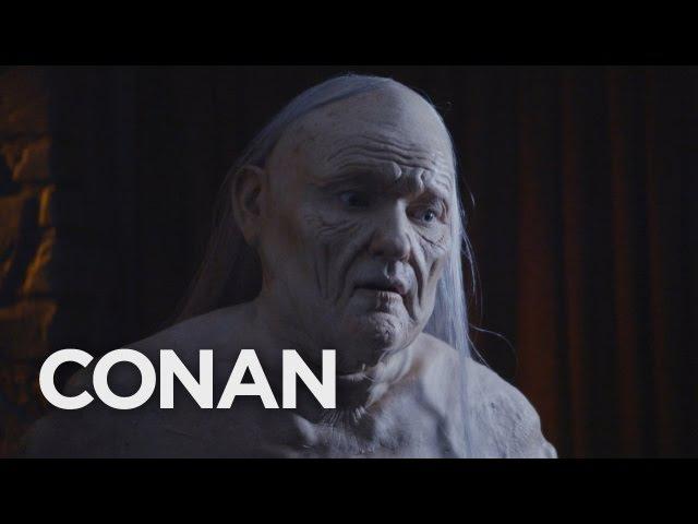 Conan Goes The Full Melisandre At ConanCon CONAN on TBS