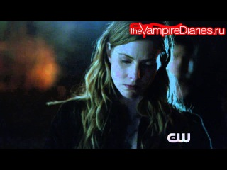 The Vampire Diaries 7x17 Webclip #1 - I Went to the Woods [Русские субтитры]