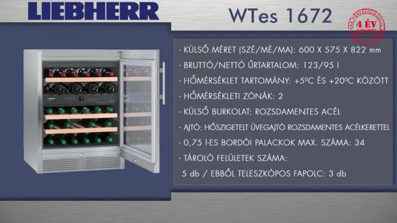 Винный шкаф Liebherr WTES 1672