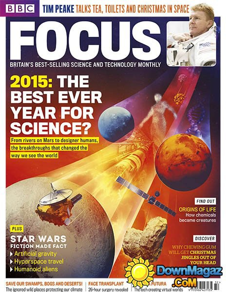 BBC Focus Science & Technology - Christmas 2015
