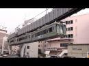 Shonan Monorail Enoshima to Ōfuna 湘南モノレール タイムラプス Time lapse cab view PART 1