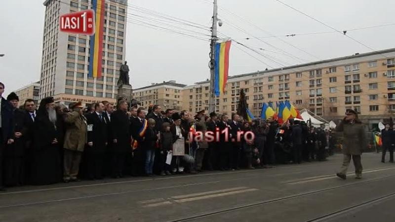 Parada militara Iasi 24 ianuarie 2015 Sarbatoare Nationala a Romaniei