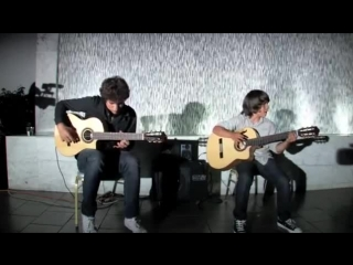 Freestyle by Taalbi Brothers- teen brothers shred flamenco rock guitar!