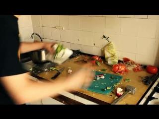 HFM (How Fast Make) - Как приготовить окрошку 34 видеьо выпуск Юмор прикол смешное видео супер круто я ржал смотреть до конца