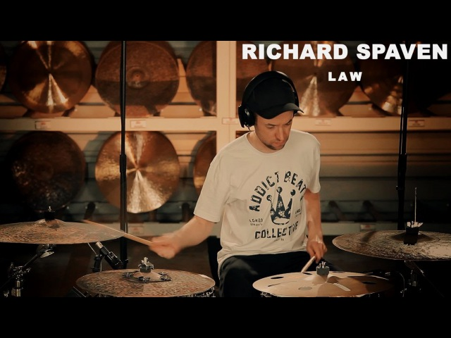 Meinl artist Richard Spaven performing LAW - filmed at the Meinl Cymbals Factory