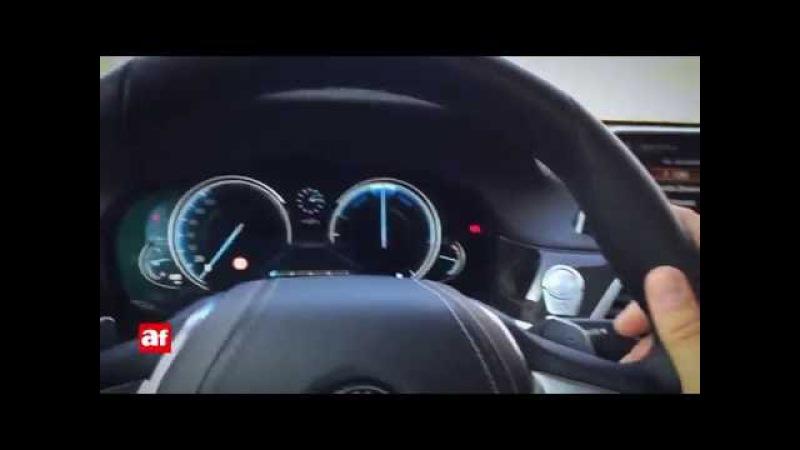 Prueba del control gestual del BMW Serie 7
