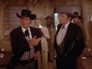 The new maverick (1978) (tv movie) - james garner charles frank jack kelly susan blanchard susan sullivan hy averback